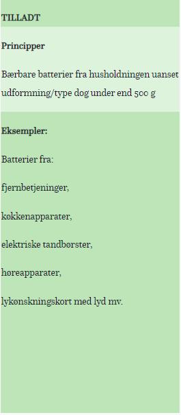 Elretur - Sorter batterier korrekt